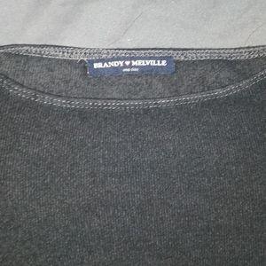 Brandy Melville Tops - Long sleeve croptop
